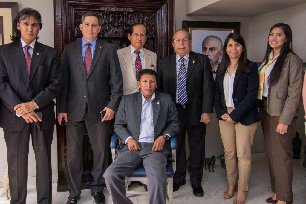 El Sr. Soria con nuestro equipo legal